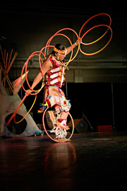 Dallas Arcand, entertainment at 2014 Regional Aboriginal Recognition Awards